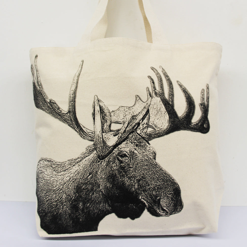 Moose Tote Bag Large