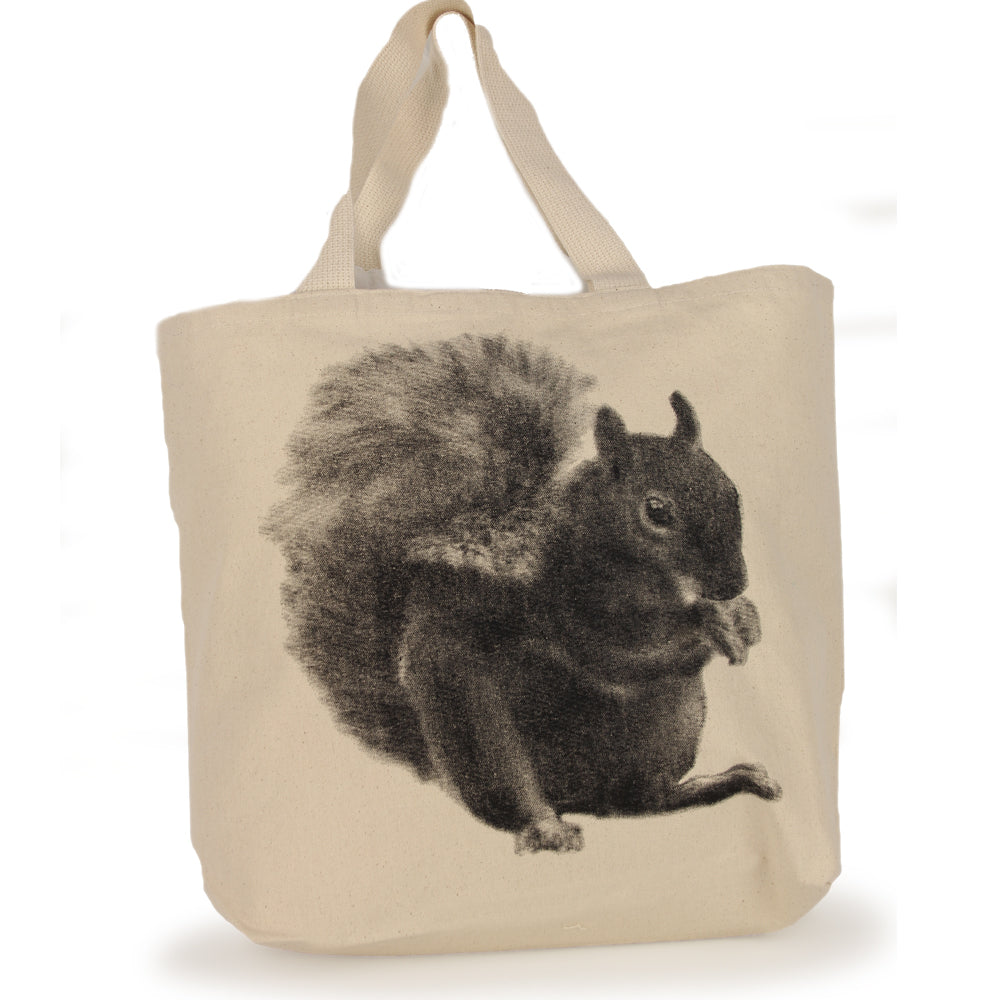 Squirrel Tote Bag Large