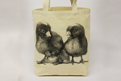Baby Chicks Tote Bag Small