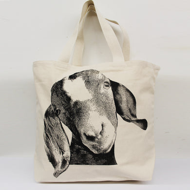 Goat Head Tote Bag Small