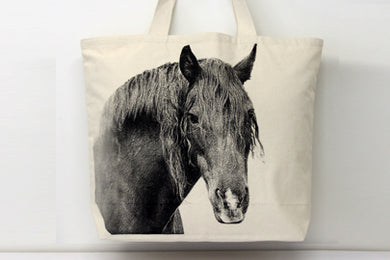 Horse 2 Tote Bag Small