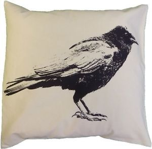 Crow Full Decorative Pillow Large