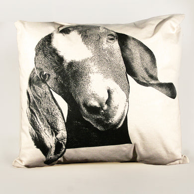 Goat Decorative Pillow Large