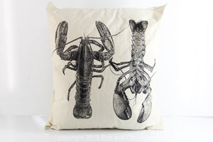 Lobster Decorative Pillow Large