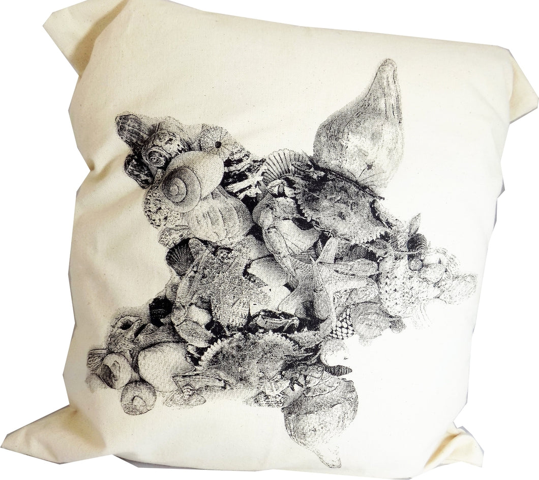 Shells Star Decorative Pillow Large