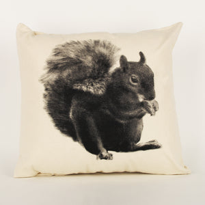 Squirrel Decorative Pillow Large