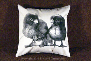 Chicks Decorative Pillow Medium
