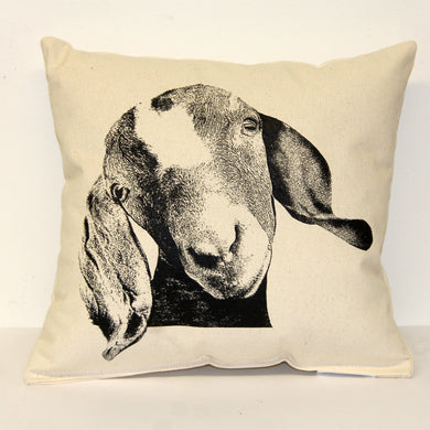 Goat Head Decorative Pillow Medium
