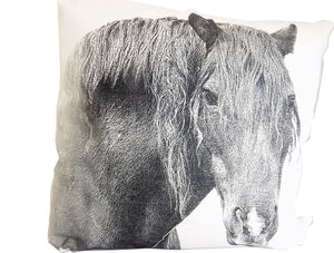 Horse 2 Decorative Pillow Medium