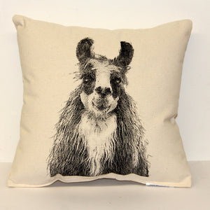 Llama Decorative Pillow Medium