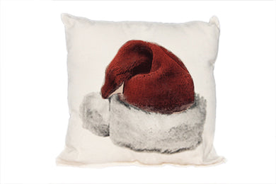 Santa Hat Decorative Pillow Medium