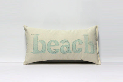Beach Decorative Pillow Small