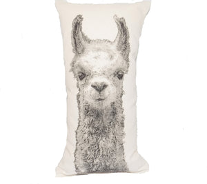 Llama Single Decorative Pillow Small
