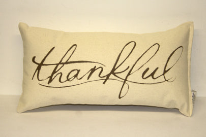 Thankful Decorative Pillow Small