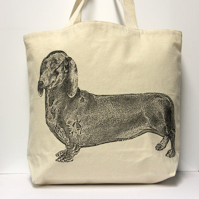 Dachshund Tote Bag Large