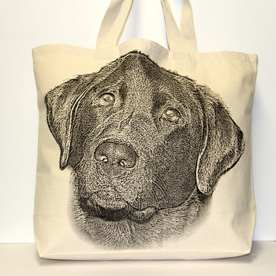Labrador Tote Bag Large