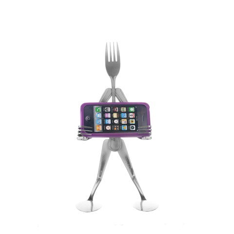 The iFork Landscape Phone stand