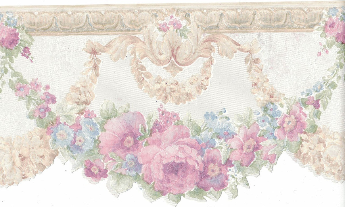 Flower Fdb02001 Wallpaper Border For Walls Gifted Parrot