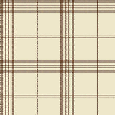 Brown Plaid FK34400 Wallpaper
