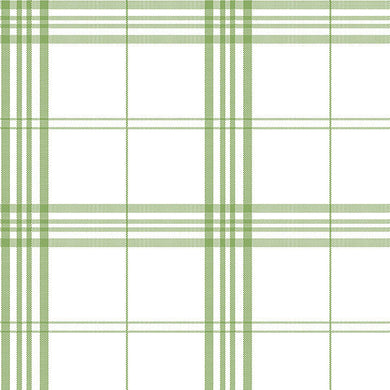 Green White Plaid FK34401 Wallpaper