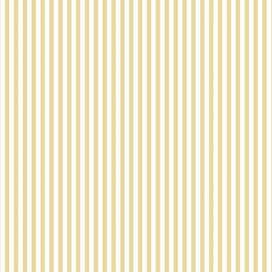 Yellow White Striped FK34411 Wallpaper