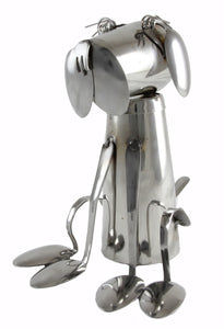 Fork and Spoon Dog Statue