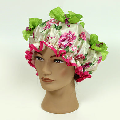 Olivia Designer Shower Cap