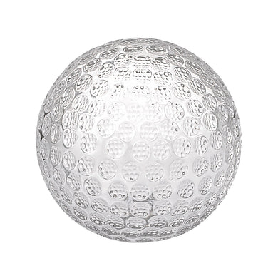 Golf Ball Crystal Glass Paperweight