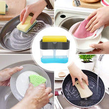 Load image into Gallery viewer, Kitchen Pump Soap Sponge