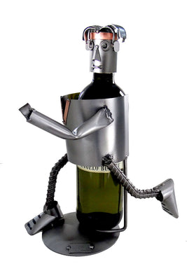 Jogger Male Wine Bottle Holder
