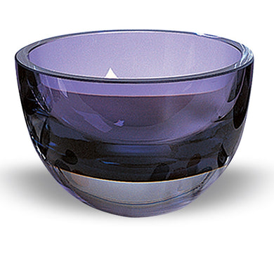 Violet Penelope Glass Bowl