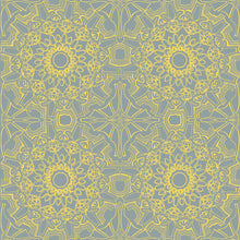 Load image into Gallery viewer, Medallion Sunrise Self-Adhesive ME058 Wallpaper
