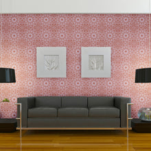 Load image into Gallery viewer, Medallion Berry Self-Adhesive ME059 Wallpaper