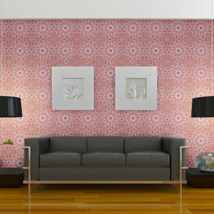 Medallion Berry Self-Adhesive ME059 Wallpaper