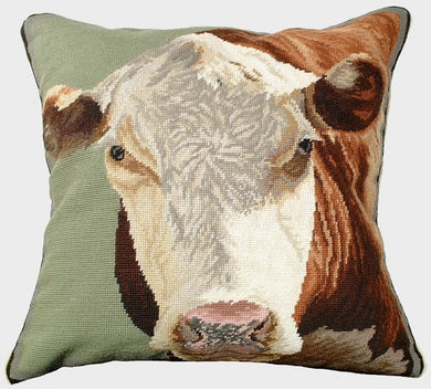 Hereford 20x20 Needlpoint Pillow