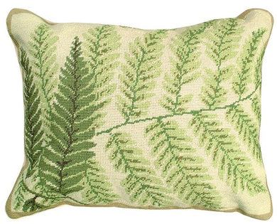 Fern - Helene Verin 16X20 Needlepoint Pillow NCU-82