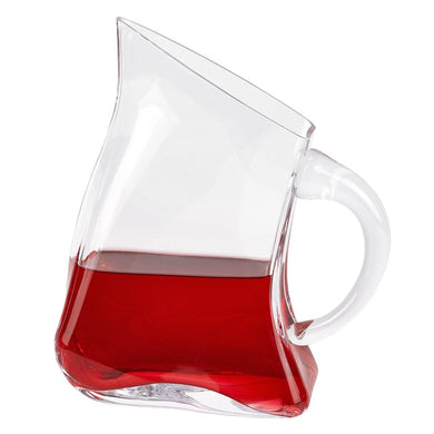 Celina Flat Design Lead Free Crystal Pitcher
