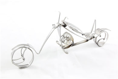 Fork and Spoon Motorcycle Display Statue
