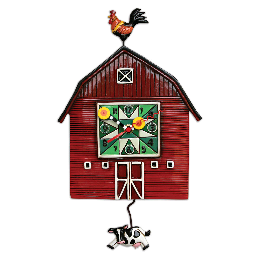 Barn Yard Wall Clock