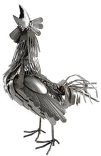 Load image into Gallery viewer, Fork and Spoon Rooster Statue