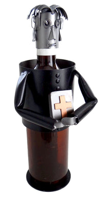 Priest Wine Bottle Holder