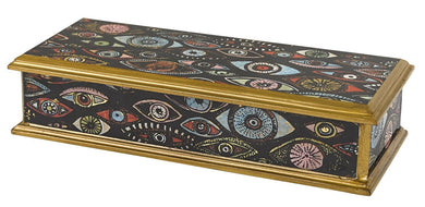 Eyes Handcrafted Jewelry or Keepsake Box