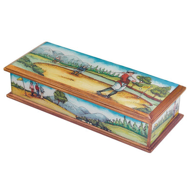 Golf Theme Pen, Jewelry or Remote Control Box