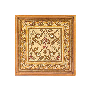 Antigua Sand 4 Pc Coaster Set Square