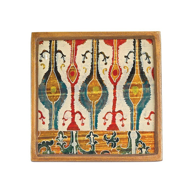 Ikat 4 Pc Coaster Set Square