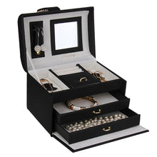 Load image into Gallery viewer, Black Cute Miniature Jewelry Box