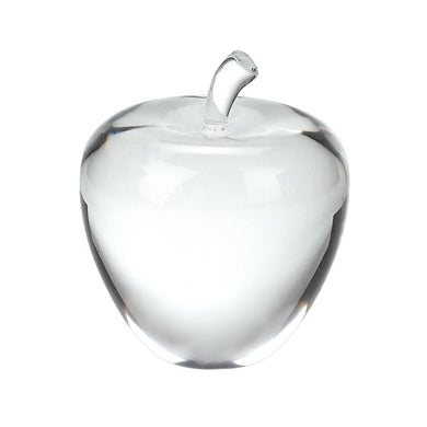 Crystal Apple 3.5 inches Tall