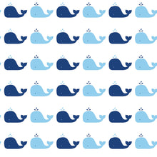 Load image into Gallery viewer, Whale Blue Self-Adhesive WH700 Wallpaper