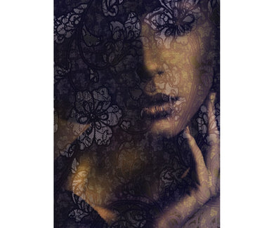 Mysterious Lace XXL2-012 Wall Mural