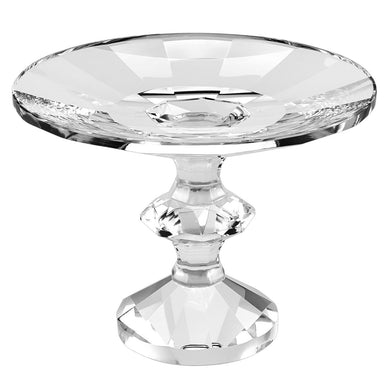 Sundance Clear Footed Glass Compote